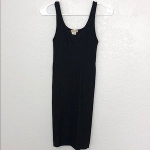 Arden B Bodycon Cutout Black Dress Medium/Large